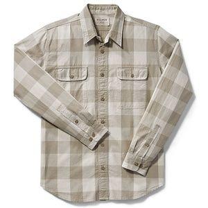New FILSON Regular Fit 'Kitsap' Work Shirt